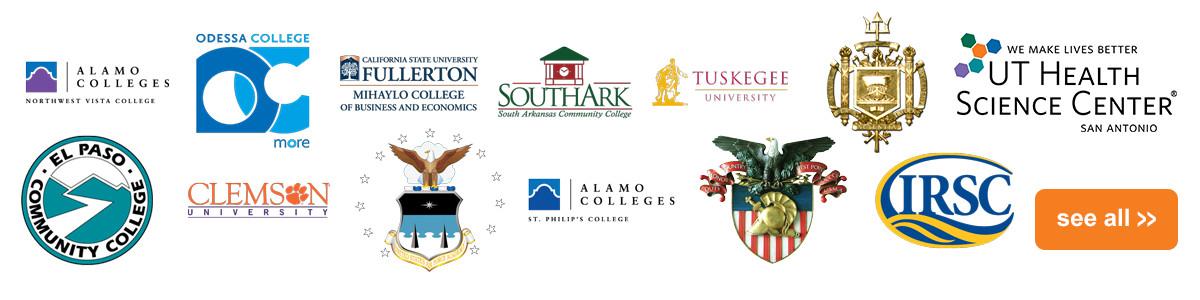 DynaTouch Client List - Colleges & Universities