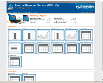 TIPS Kiosk Management Software - Powerful Reporting