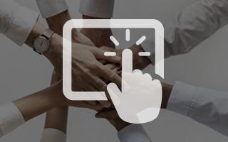 TIPS Kiosk Application Software - HRExpress - HR team members hands
