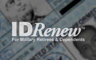 TIPS Kiosk Application Software - IDRenew For Military Retirees & Dependents